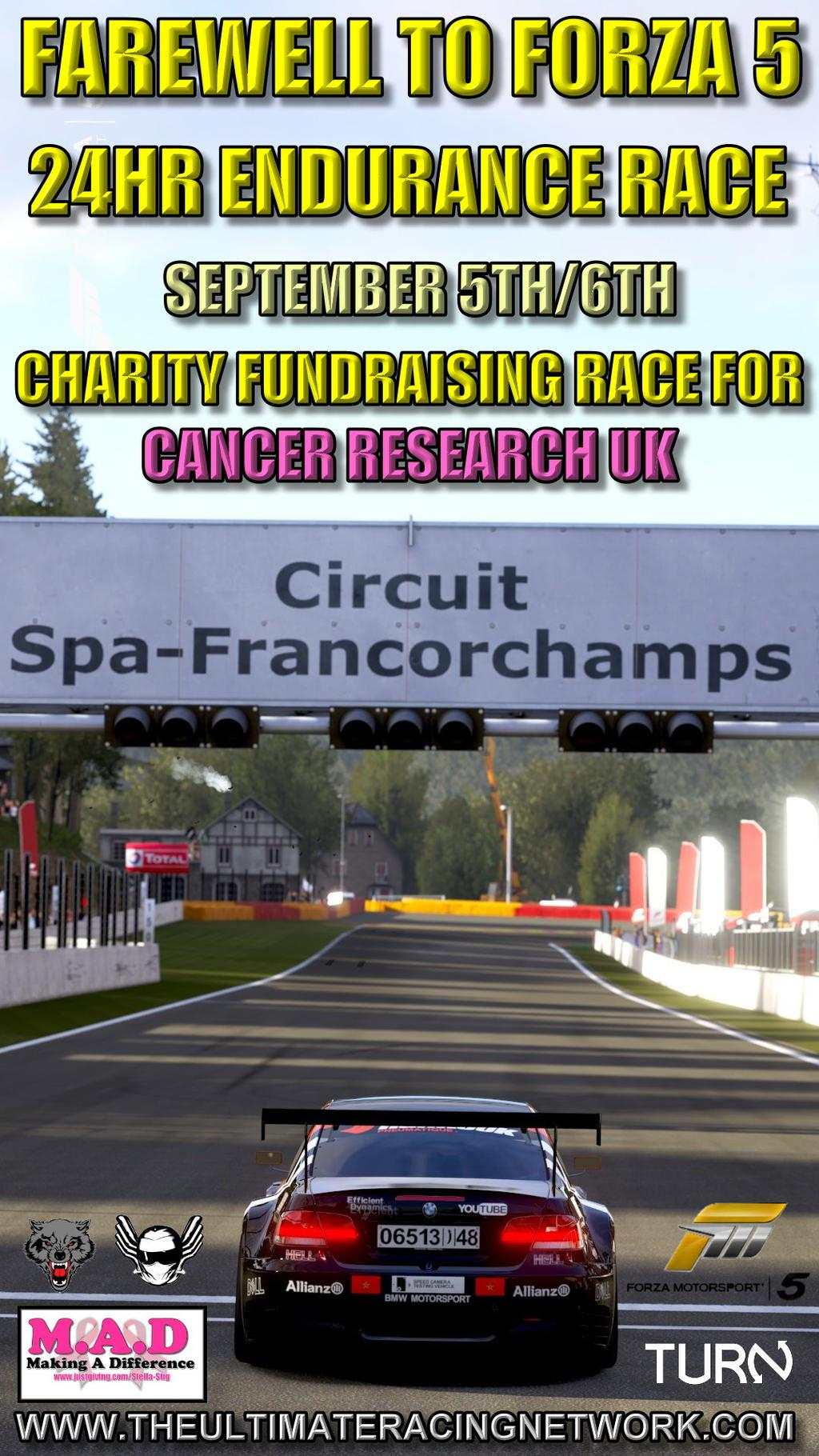 Farewell Forza 5 Charity Event
